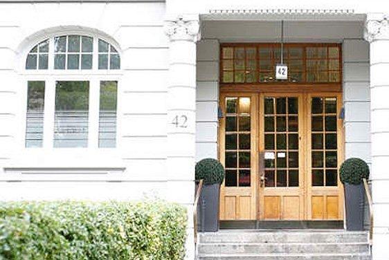 Eingangsbereich HNO-Praxis in Eppendorf